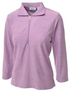 Ashworth Golf Womens Ladies 3/4 Sleeve Zip Polo Shirt Top - Lilac - Size 8US by Ashworth. $8.99. 1/2 length zip. Fabric 60% Cotton, 40% Polyester. Subtle, tone on tone, embroidered Ashworth logo on left sleeve. 3/4 length sleeves with side split tip. Side split hem. All over stitched pattern. Synonymous with Golf, the Ashworth Clothing Range will be ideal for the golfer who favours quality and style. Save 78%!