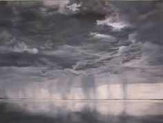 In 2004, I began making large-scale pastel drawings, and for the following two years tumultuous skies consumed my attention. Severe weather is at once captivating and destructive, beautiful and terrifying.