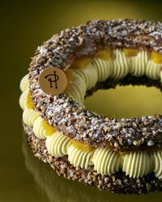 Paris-Brest (Pierre Hermé) by TamidP Choux Pastry, Pastry Art, Paris Brest, Profiteroles, French Patisserie, Beautiful Desserts, French Desserts, Baking And Pastry, French Pastries