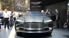 Кроссовер Aston Martin DBX   noobycar