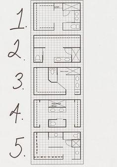 bathroom layout ideas bathroom floor plans bathroom floor plans with closets master bath layout options Small Master Bath, Master Bathroom Layout, Master Baths, Master Suite Layout, Master Bathroom Plans, Master Plan, Master Closet Layout, Small Bathroom Floor Plans, Master Master