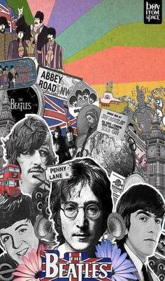 The Beatles is a liverpool band Beatles Love, Les Beatles, Beatles Art, Beatles Poster, Beatles Photos, Beatles Guitar, Ringo Starr, George Harrison, John Lennon