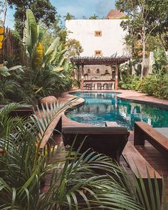 We spent 3 nights in this gem of a find in Tulum and I am not complaining!  Jungle paradise! 🌴✨