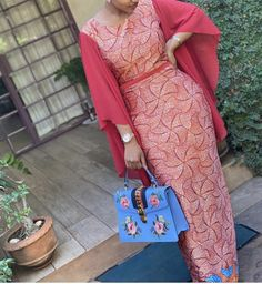 Latest African Fashion Dresses, African Print Fashion, Women's Fashion Dresses, African Attire, African Wear, African Dress, Ankara Dress Styles, Dress Clothes For Women, Purple Fashion
