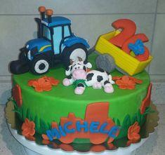 torta trattore tractor cake