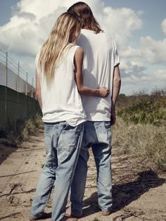 Bassike debuts the first advertising campaign for its denim line with a new round of images that highlight an androgynous focus. Bassike's quality denim is made… Nike Tech, Karen Walker, Moda Australiana, Azul Vintage, Australian Clothing, Fashion Gone Rouge, Campaign Fashion, Stylish Couple, Stylish Men