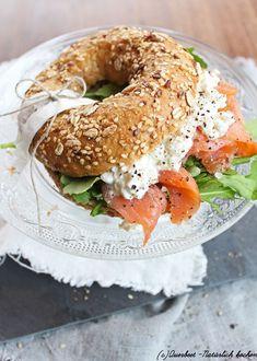 Lachs Frischkäse #bagel