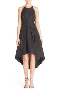 Aidan by Aidan Mattox Jacquard High/Low Dress available at #Nordstrom