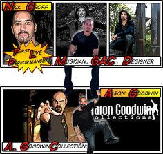 Nick Groff & Aaron Goodwin -- Ghost Adventures (so excited to be helping my brother out at scarefest!)