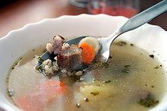 10 nejlepších obědových polévek | ReceptyOnLine.cz - kuchařka, recepty a inspirace Cheeseburger Chowder, Panna Cotta, Soup, Ethnic Recipes, Dulce De Leche, Soups