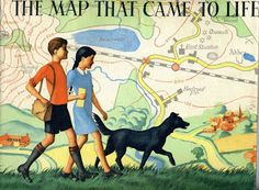 The Map that Came to Life- cover