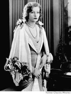 Greta Garbo - Opera Coat and Gown