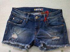 Shorts shaft jeans