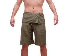 Thai Fisherman Pants Unisex Pants Wide Leg by AsianCraftShop, $14.00