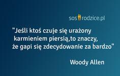 Karmienie piersią - Woody Allen