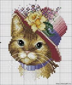 Cross-stitch (Etamine) Cat Templates Cross-stitch (Etamine) Cat Templates Hello friends we have publ Cat Cross Stitches, Funny Cross Stitch Patterns, Cross Stitch Charts, Cross Stitch Designs, Cross Stitching, Cross Stitch Embroidery, Cat Template, Cross Stitch Animals, Cat Cat