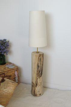 Grande lampe de salon en bois flotté   Salons
