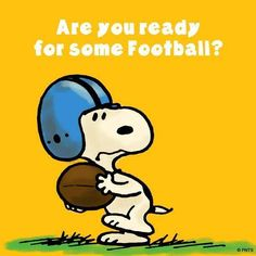 Are you ready for some football? Snoopy Yes, Football, No! Peanuts Cartoon, Peanuts Snoopy, Peanuts Characters, Cartoon Characters, Pixar, Minions, Hello Kitty Imagenes, Garfield, Snoopy Quotes