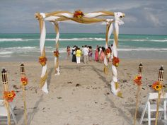 I would get married on the beach :)