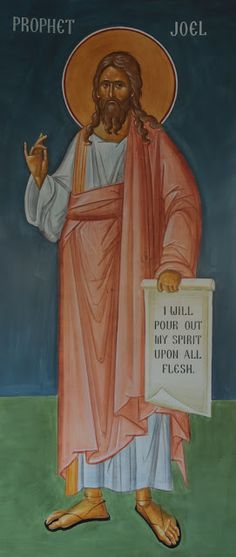 St. Joel  Whispers of an Immortalist: Icons of Prophets 2