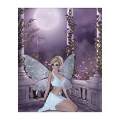 Shop Beautiful Fantasy Fairy Shayla Moonglow Acrylic Print created by WhimsicalArtwork. Forest Creatures, Forest Animals, Fantasy Creatures, Moon Fairy, Fantasy Gifts, Acrylic Wall Art, She Was Beautiful, Faeries, Elves