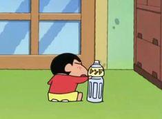 Best Cartoons Ever, Cool Cartoons, Cartoon Icons, Cartoon Characters, Anime Meme Face, Crayon Shin Chan, Anime Films, Meme Faces, Aesthetic Anime