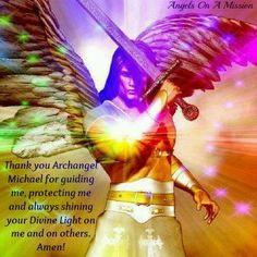 Arc angel Michael, arc angels can devide themselves and be multiple places at the same time.  Guardian angels are different. We all have one that stays with us throughout lives.