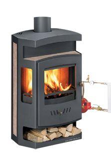 Large Cast Iron Fatso Masport Wood Burner Stove Fireplace