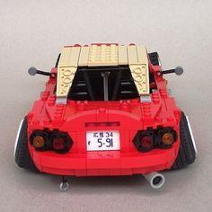 Lego Mazda MX5 / Miata / Eunos - NA / Mk1 (cabriolet / convertible / sports car)