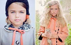 I want make both coats. So pretty! They remind me of handmade coats of my childhood.