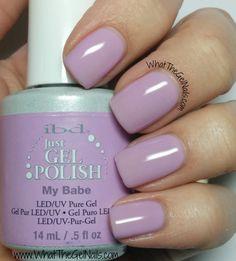 IBD My Babe plus more of my top 10 favorite IBD just gel polishes colors.