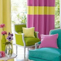 love all the colors nice idea for my living room Casamance, Interior Architecture, Interior Design, Colorful Chairs, Louis Xvi, My Living Room, Living Area, Creative Home, Soft Furnishings