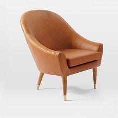 Beckett Leather Club Chair
