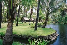 Coco Palms Resort, Kauai. Sad seeing it so derelict after hurricane Iniki hit in the 90's.