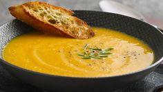 Apple-Cinnamon Butternut Squash Soup Recipe