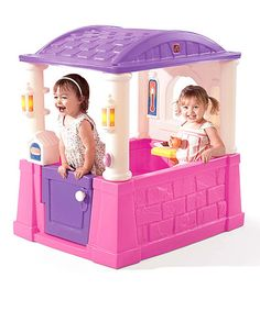 Take a look at this Pink Four Seasons Playhouse on zulily today!