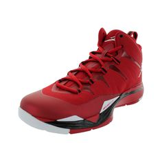 1097ddc2d284 Nike Men s Jordan Super.Fly 2 Gym Red White Black White Basketball Shoe