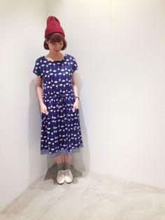 花柄のワンピース!!!レトロで可愛いです! | 新宿ミロード店 | POU DOU DOU ショップブログ