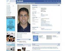 """Courant 2005, """"The Facebook"""" devient simplement """"Facebook"""". Le design subit lui aussi un lifting, devenant plus sobre."""
