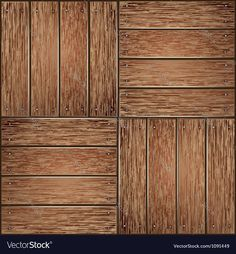 Wooden panel seamless background Vector Image by graphixmania