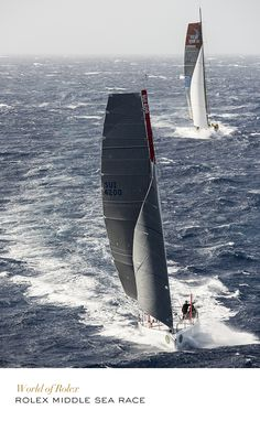 "2014 Rolex Middle Sea Race #Yachting #RolexOfficial.. ..... .PLEASE explain what a ""Middle Sea Race"" is."