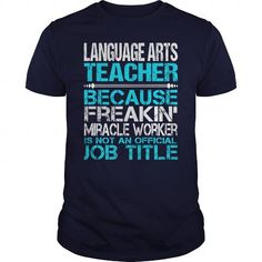 Awesome Tee For Language Arts Teacher T Shirts, Hoodies. Get it now ==► https://www.sunfrog.com/LifeStyle/Awesome-Tee-For-Language-Arts-Teacher-114504140-Navy-Blue-Guys.html?41382 $22.99
