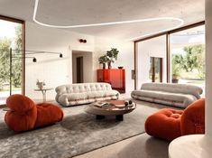 Бренд Cassina представил более экологичный вариант модели Soriana. Итальянский производитель мебели Cassina .