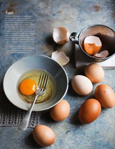 Laura Edwards shot this stunning photograph for the April issue of Spinneys FOOD magazine. Take a look at these delicious egg ideas.