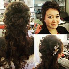 cool vancouver wedding #vancouvermakeup #makeupartist #koreanmakeup #hairstyle #veronucacho #vanwedding by @veronica_wedding_makeup  #vancouverwedding #vancouverweddingmakeup #vancouverwedding