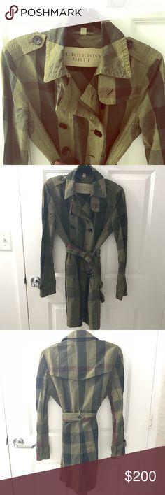 coat Burberry Brit Burberry Jackets & Coats Trench Coats