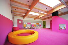 Yellow Elephant Kindergarten / xystudio Courtesy of xystudio