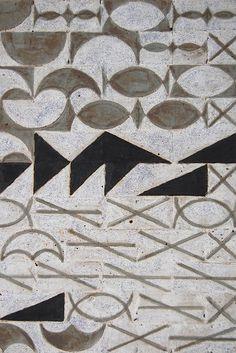 "Tom Lauerman, Untitled (Trenton Bath House)(Detail), 2010, Ceramic, 7""x7""x8"" (by TelegraphArt)"