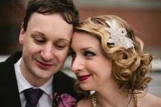 """Budget Bride Tip for June 28: Find an affordable hairstylist online. Joann Gray wanted a vintage hairstyle to match the 1920s theme of her March 31 wedding in New York City.    """"I was going to do it myself,"""" says Joann, 30, a public relations specialist. But she ultimately decided that she was in over her head."""