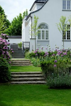 KJELD SLOT Big Garden, Love Garden, Dream Garden, Landscape Design, Garden Design, German Houses, Outdoor Spaces, Outdoor Living, Rich Home